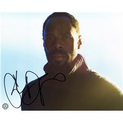 Fear the Walking Dead Strand Photo Signed by Colman Domingo