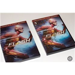 Flash, The - The Complete First Season DVD Signed by R. Cosnett, C. Valdes