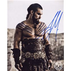 Game of Thrones Khal Drogo Photo Signed by Jason Momoa