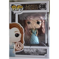 Game of Thrones Margaery Tyrell Funko Pop! Signed by Natalie Dormer (Rare/Vaulted)