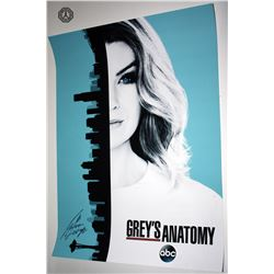 Grey's Anatomy Poster Signed by Jason George
