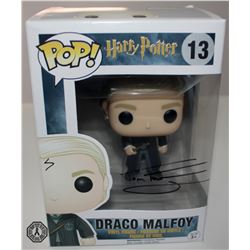 Harry Potter Draco Malfoy Funko Pop! Signed by Tom Felton