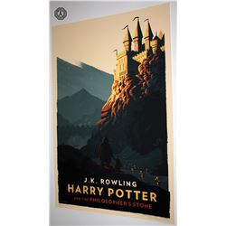 Harry Potter Limited Edition Olly Moss Art Print Set (7)