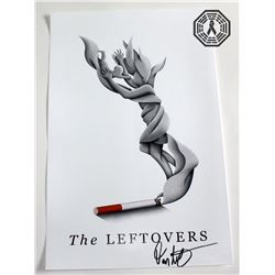 Leftovers, The - Cigarette Departure Poster Signed by D. Lindelof