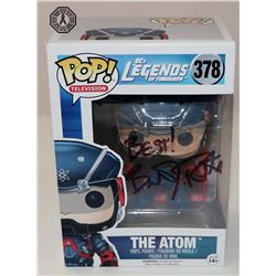 Legends of Tomorrow The Atom Funko Pop! Signed by Brandon Routh (Rare/Vaulted)