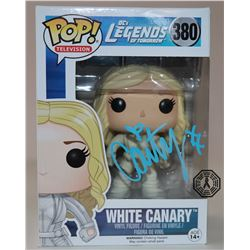 Legends of Tomorrow White Canary Funko Pop! Signed by Caity Lotz (Rare/Vaulted)
