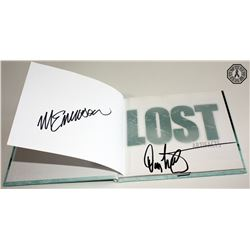 LOST Artifacts Mini Book Signed by Michael Emerson & Damon Lindelof