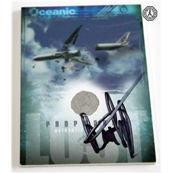 LOST Authentic Oceanic 815 Piece Trading Card Signed by D. Lindelof