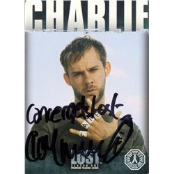LOST Charlie Pace Trading Card Signed by Dominic Monaghan