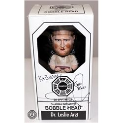 LOST Dr. Arzt Bobblehead Signed by Daniel Roebuck