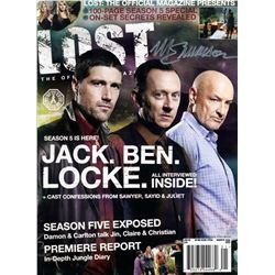 LOST Magazine Issue #21 Signed by Michael Emerson