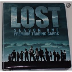 LOST Season 1 Premium Trading Cards Binder w/Complete Set of Cards
