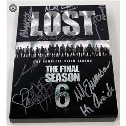 LOST Season 6 DVD Signed by 8 Cast/Creative Team