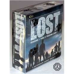 LOST Seasons 1 Thru 5 Trading Cards in Sealed Box