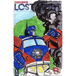 LOST Transformers Custom Crossover Cover Comic