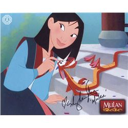 Mulan Photo Signed by Ming-Na Wen