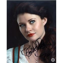 Once Upon a Time Belle Photo Signed by Emilie de Ravin