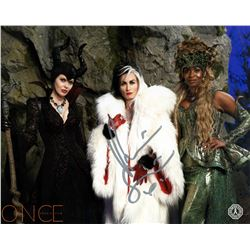 Once Upon a Time Queens of Darkness Photo Signed by Victoria Smurfit