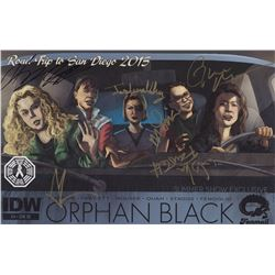 Orphan Black Comic (SDCC 2015 Exclusive) Signed by 6 Cast/Creative Team