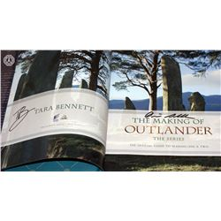 Outlander - The Making of Outlander Book Signed by Authors D. Gabaldon, T. Bennett