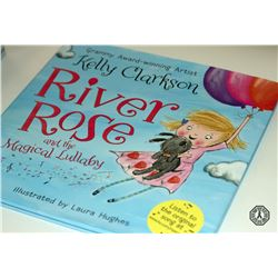 River Rose & The Magical Lullaby Book + Doll Signed by Author Kelly Clarkson