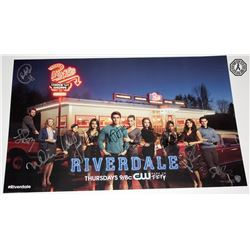 Riverdale WonderCon Mini Poster Signed by 10 Cast/Creative Team