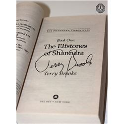 Shannara Chronicles, The: The Elfstones of Shannara Signed by Author T. Brooks