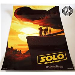 Solo: A Star Wars Story Lando Funko Pop!, Art Print, 2 Posters & Pin Set