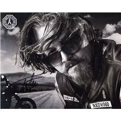 Sons of Anarchy Chibs Photo Signed by Tommy Flanagan