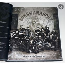 Sons of Anarchy: The Official Collector's Edition Book Signed by 4 Cast