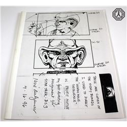 Star Trek: Deep Space Nine Director Rene Auberjonois' Storyboards (Signed)