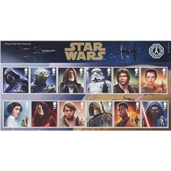 Star Wars 12-Character, 6-Vehicle Limited Ed. 2015 Presentation Stamps