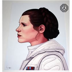 Star Wars Princess Leia Limited Edition Art Print