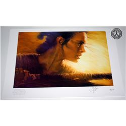 Star Wars: The Force Awakens Limited Edition Rey Print