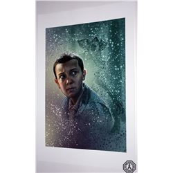 Stranger Things Eleven Art Print