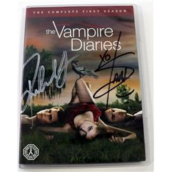 Vampire Diaries, The - Signed DVD & I. Somerhalder Photo + TVD Comic Book