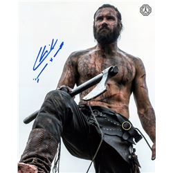Vikings Rollo Photo Signed by Clive Standen & Drinking Horn (SDCC 2017 Exclusive)
