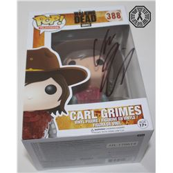 Walking Dead, The - Carl Grimes Funko Pop! Signed by Chandler Riggs