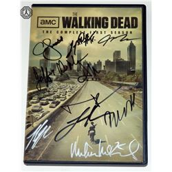 Walking Dead, The - Complete First Season DVD Signed by 10 Cast