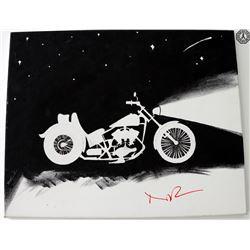 Walking Dead, The - Daryl Motorcycle Fan Art Signed by Norman Reedus