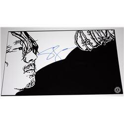 Walking Dead, The - Glenn Fan Art Signed by Steven Yeun