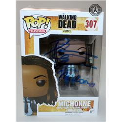 Walking Dead, The - Michonne Funko Pop! Signed by Danai Gurira (Rare/Vaulted)