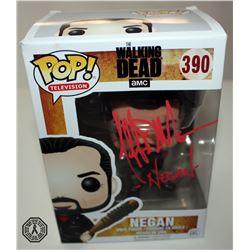 Walking Dead, The - Negan Funko Pop! Signed by Jeffrey Dean Morgan
