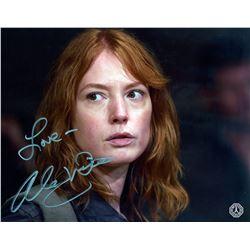 Walking Dead, The - Paula Photo Signed by Alicia Witt