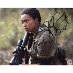 Walking Dead, The - Sasha Photo Signed by Sonequa Martin-Green