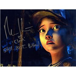 Walking Dead, The - Telltale Game Clementine Photo Signed by Melissa Hutchison