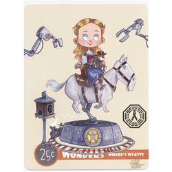 Westworld Dolores & Maeve Mini Art Print Set