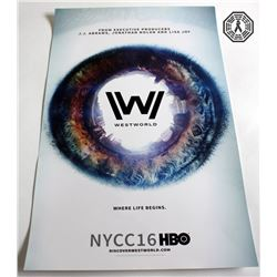 Westworld New York Comic Con 2016 Poster & Pamphlet + Pin