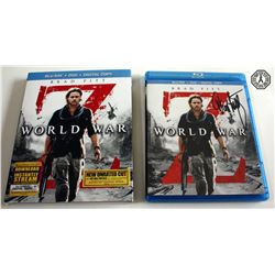 World War Z Blu-ray/DVD/Digital Copy 2-Disc Set Signed by D. Lindelof