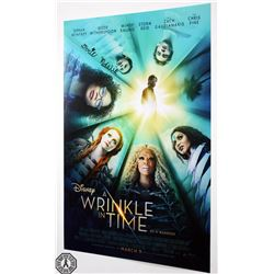 Wrinkle in Time, A - 2018 Disney Poster Signed by Deric McCabe